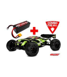 COMBO DEMENTOR XP 6S + Battery 50C 4S 5400mAh